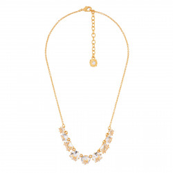 9 Crystal Stones Necklace