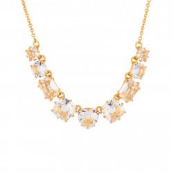 Colliers Fins Collier Fin 9 Pierres La Diamantine Cristal120,00€ AILD318/2Les Néréides