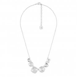 6 Silver Crystal Stones...