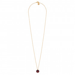 Long Necklace With Plum...