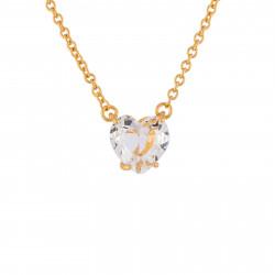 Colliers Pendentifs Collier Pendentif Pierre Cœur La Diamantine Cristal50,00€ AILD353/2Les Néréides