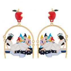Boucles D'oreilles Originales Boucles D'oreilles 7 Nains Au Chevet De Blanche Neige70,00€ AHBN101T/1N2 by Les Néréides