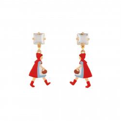Boucles D'oreilles Boucles D'oreilles Petit Chaperon Rouge Se Promenant Dans Les Bois40,00€ AECR106T/1N2 by Les Néréides