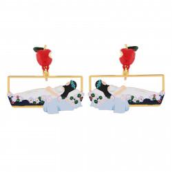 Boucles D'oreilles Originales Boucles D'oreilles Clip Blanche Neige Endormie Dans Son Cercueil De Verre70,00€ AHBN106C/1N2 b...