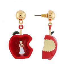 Boucles D'oreilles Boucles D'oreilles Recto Verso Blanche Neige Dans La Pomme Empoisonnée