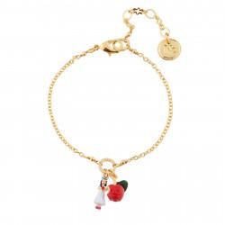 Bracelets Originaux Bracelet Blanche Neige Et Pomme Empoisonnée40,00€ AHBN201/1N2 by Les Néréides