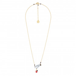 Hand And Posoin Apple Necklace