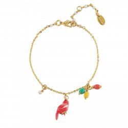 Bracelets Fins Bracelet Canari Corail Et Petites Pampilles