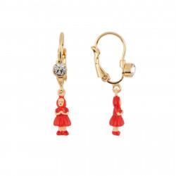 Boucles D'oreilles Boucles D'oreilles Petit Chaperon Rouge Miniature
