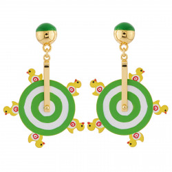Duck Shooting Earrings