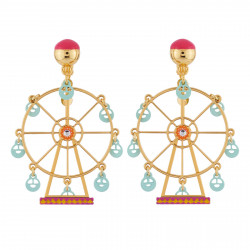Boucles D'oreilles Boucles D'oreilles Clip La Grande Roue Enchantée D'n265,00€ AHJL119C/1N2 by Les Néréides