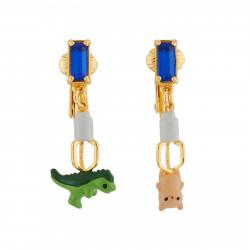 Boucles D'oreilles Boucles D'oreilles Clip Figurines Prises Au Piège Par L'attrape-peluches35,00€ AHJL122C/1N2 by Les Néréides