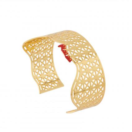 Bracelets Bracelet Manchette Montagnes Russes D'n265,00€ AHJL202/1N2 by Les Néréides
