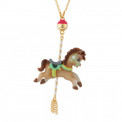 Carousel Small Horse Necklace