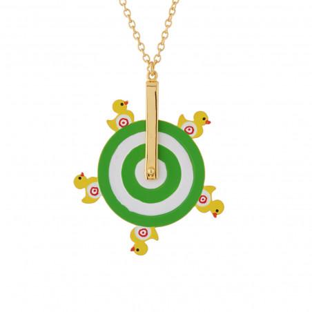 Necklace Alphabet Fleuri letter H