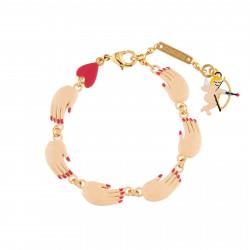 Bracelets Bracelet Farandole De Mains Vernies45,00€ AICS202/1N2 by Les Néréides