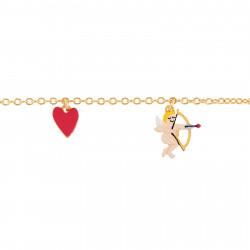 Bracelets Bracelet Pampilles Cupidon Et Petit Cœur