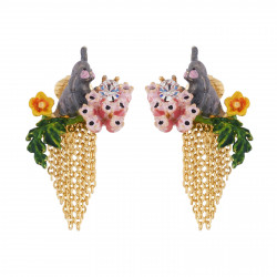 Clip-on Earrings With Small...