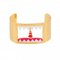 Bracelets Manchette Petit Chaperon Rouge Dans La Gueule Du Loup70,00€ AECR206/1N2 by Les Néréides