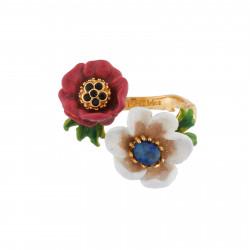 Bagues Ajustables Bague Ajustable Fleurs Blanches Et Rouges90,00€ AIPM601/1Les Néréides