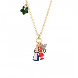 Colliers Collier Personnages Du Petit Chaperon Rouge Miniatures