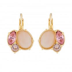 quartz And Pink Rhinestone...