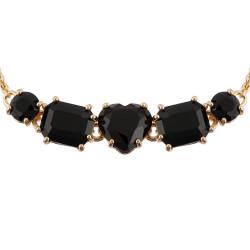 Bracelets Fins Bracelet 5 Pierres Noires