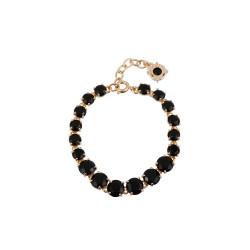 Bracelets Fins Bracelet Luxe Un Rang Noire130,00€ ACLD252/2Les Néréides