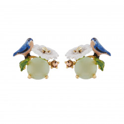 Earrings With Chickadee And...