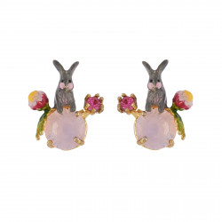 Earrings With Bunny And...