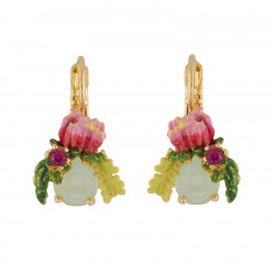 Earrings With Eucalyptus...