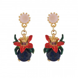 Earrings With Tropical...