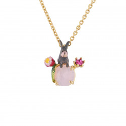 Necklace Bunny And Flowers...
