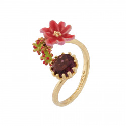 Adjustable Ring Small Pink...