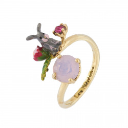 Adjustable Ring Bunny And...