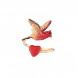 Bagues Ajustables Bague Ajustable Coeur Et Oiseau90,00€ AJAT601/1Les Néréides