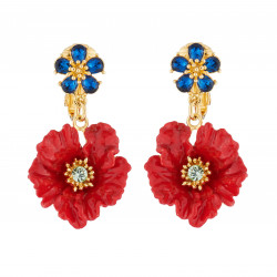 Poppy Clip-on Earrings