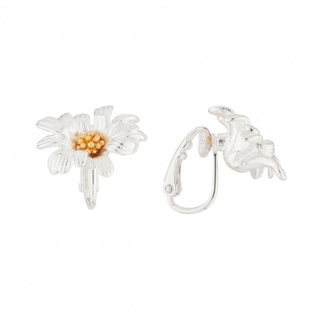 Pas de Deux earrings with ballerinas and light pink stone