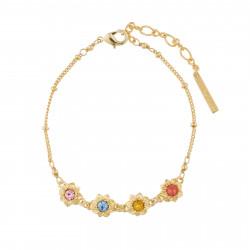 Bracelets Fins Bracelet Fin Fleurs Et Pierrres Multicolores70,00€ AJCO204/1Les Néréides