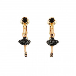 Clip On Earrings With Mini...