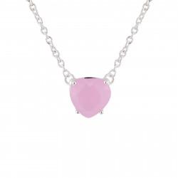 Colliers Pendentifs Collier Fin Pierre Cœur Rose La Diamantine50,00€ AJLD353/2Les Néréides