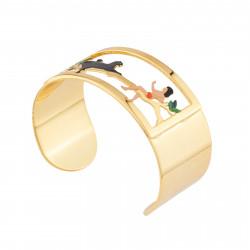 Bracelets Bracelet Jonc Mowgli Et Bagheera70,00€ AJMJ203/1N2 by Les Néréides