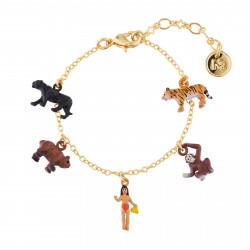 Bracelets Originaux Bracelet Charms Personnages Du Livre De La Jungle65,00€ AJMJ205/1N2 by Les Néréides