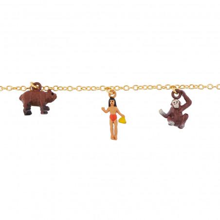 Bracelet Charms Personnages Du Livre De La Jungle N2 By