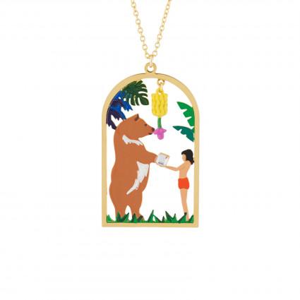 Colliers Collier Pendentif Mowgli Et Baloo75,00€ AJMJ302/1N2 by Les Néréides