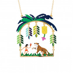 Mowgli And Shere Khan Necklace