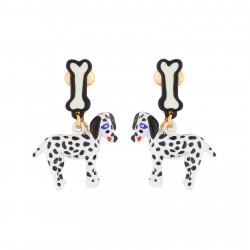 Boucles D'oreilles Boucles D'oreilles Pendantes Clip Dalmatien