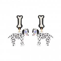 Boucles D'oreilles Originales Boucles D'oreille Pendantes Tige Dalmatien75,00€ AJNA104T/1N2 by Les Néréides