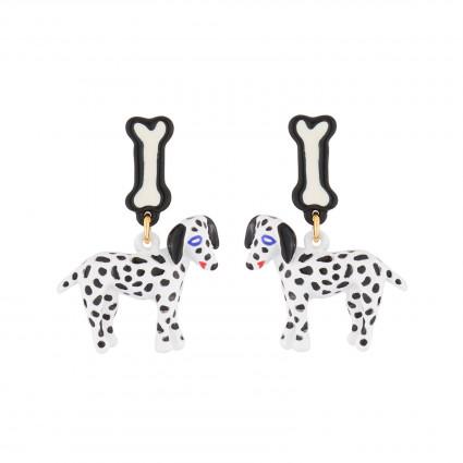 Boucles D'oreilles Boucles D'oreille Pendantes Tige Dalmatien75,00€ AJNA104T/1N2 by Les Néréides