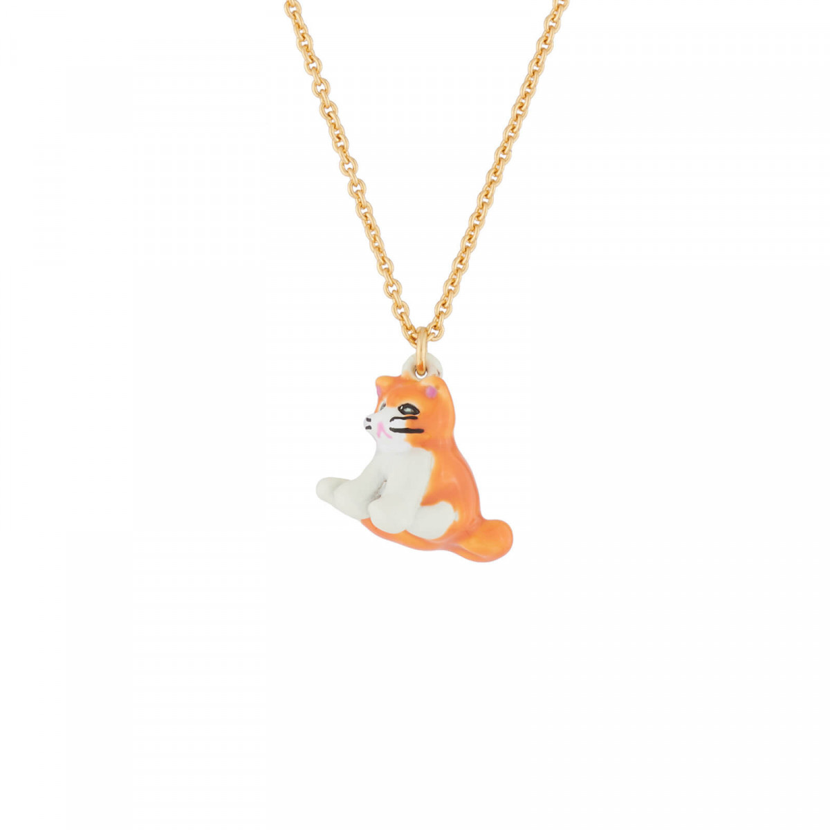 Colliers Collier Pendentif Chat
